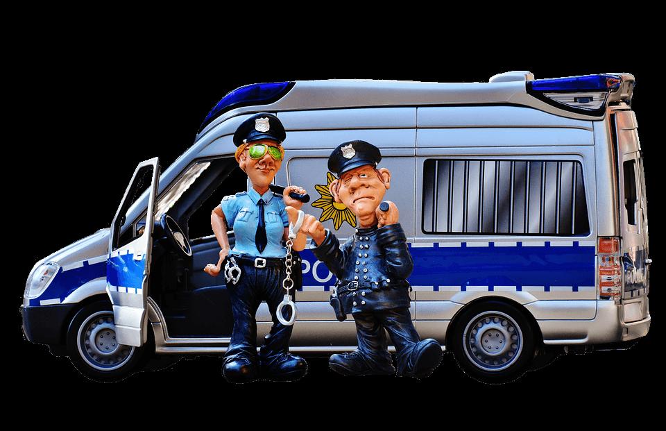 Polisen fullt beredda